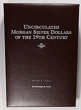 UNCIRCULATED MORGANS OF THE 20TH CENTURY, POSTAL COMMEM. SOCIETY FANCY ALBUM: