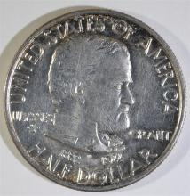 1922 GRANT COMMEMORATIVE HALF DOLLAR, CHOICE BU
