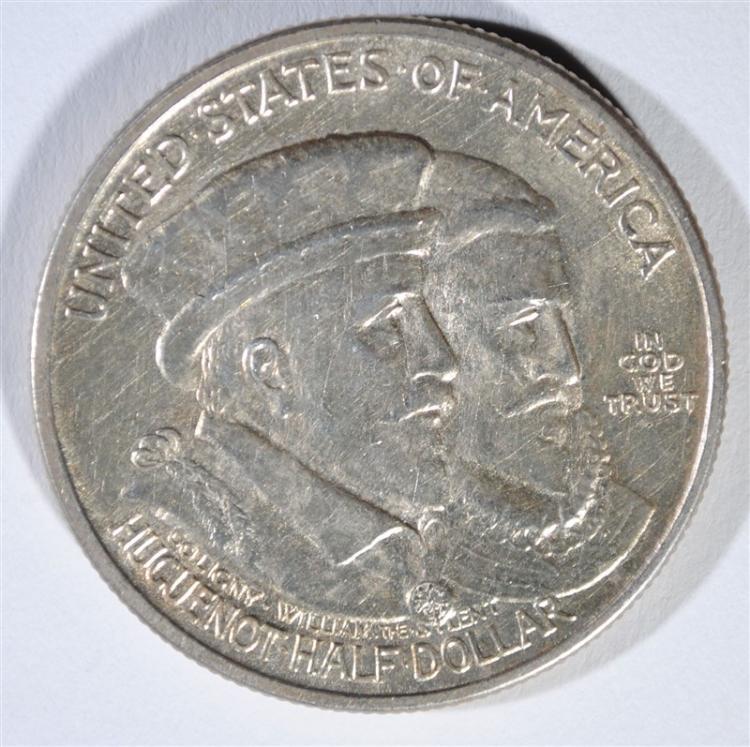 1924 HUGENAUT COMMEMORATIVE HALF DOLLAR, CHOICE BU