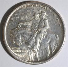 1925 STONE MOUNTAIN COMMEMORATIVE HALF DOLLAR,  CHOICE BU