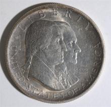 1926 SESQUICENTENNIAL COMMEMORATIVE HALF DOLLAR, CHOICE BU