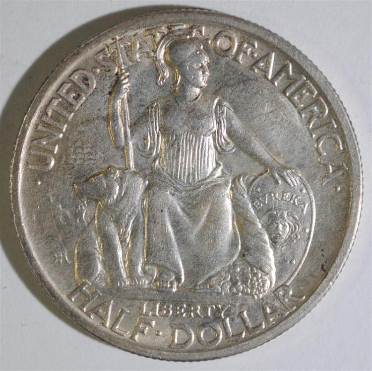 1935-S SAN DIEGO COMMEMORATIVE HALF DOLLAR, CHOICE BU