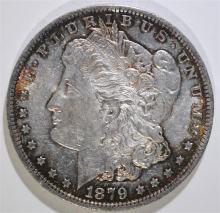 1879-O MORGAN SILVER DOLLAR, BU