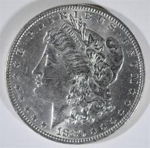 1880-O MORGAN SILVER DOLLAR,  BU a few marks on obverse