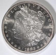1883-O MORGAN SILVER DOLLAR, CHOICE BU PL