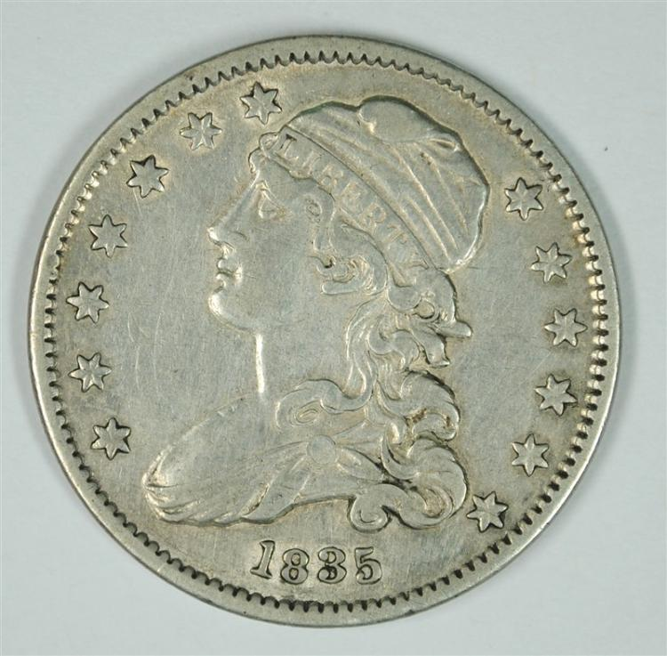 1835 BUST QUARTER AU  NICE EXAMPLE