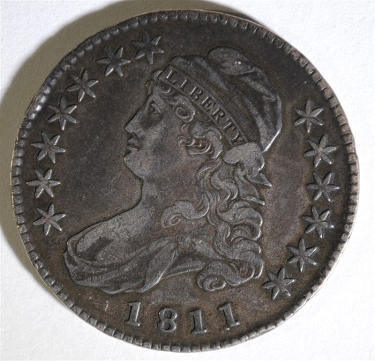 1811 CAPPED BUST HALF DOLLAR - VF