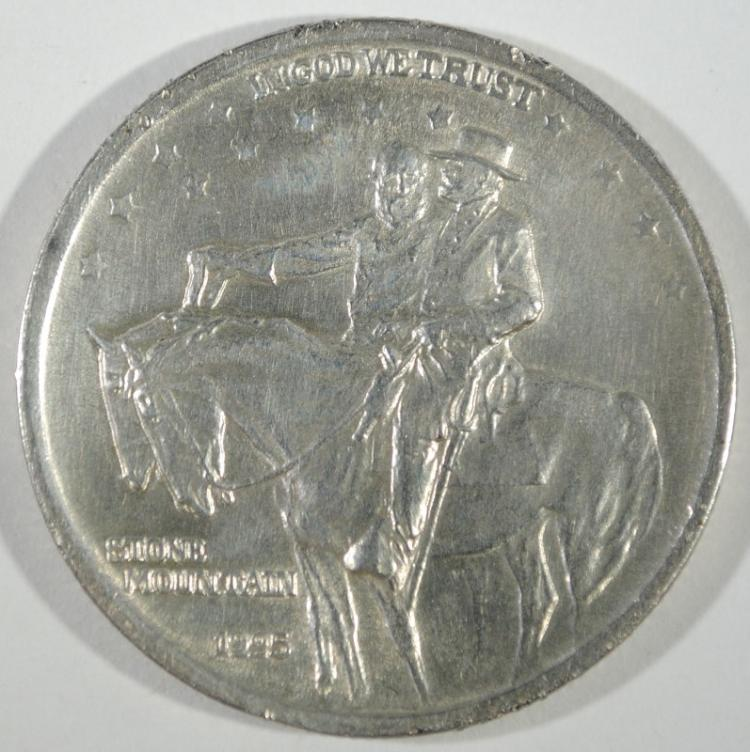 1925 STONE MOUNTAIN COMMEM HALF DOLLAR - XF / AU