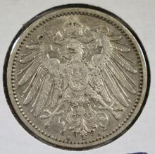1907A SILVER 1MARK IMPERIAL GERMANY