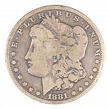 1881-CC MORGAN DOLLAR VG