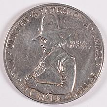1920 PILGRIM HALF XF POPULAR COMMEMORATIVE