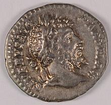 ROMAN IMPERIAL SEPTIMUS SEVERUS SILVER DENARIUS