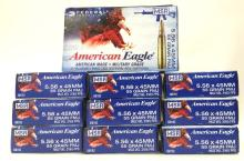 10 Boxes of Federal American Eagle 5.56x45mm.