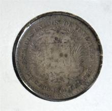 1874 A SILVER 10 CENT  VF