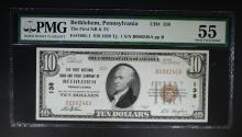 1929 TY. 1 $10 NATIONAL CURRENCY PMG 55