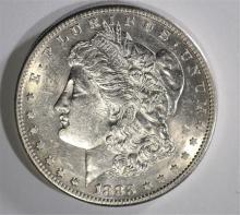 1883-S MORGAN DOLLAR AU/BU FLASHY