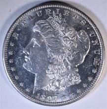 1897-S MORGAN DOLLAR, CH BU SEMI-PL