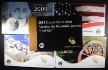 U.S. QUARTER PROOF SET LOT: