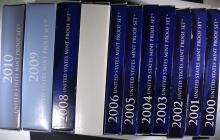 SET of 11 PROOF SETS of THE 2000 ERA
