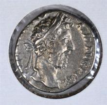 193-211AD SILVER DENARIUS