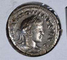 218-222AD SILVER DENARIUS