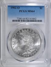 1902-O MORGAN SILVER DOLLAR PCGS MS-64