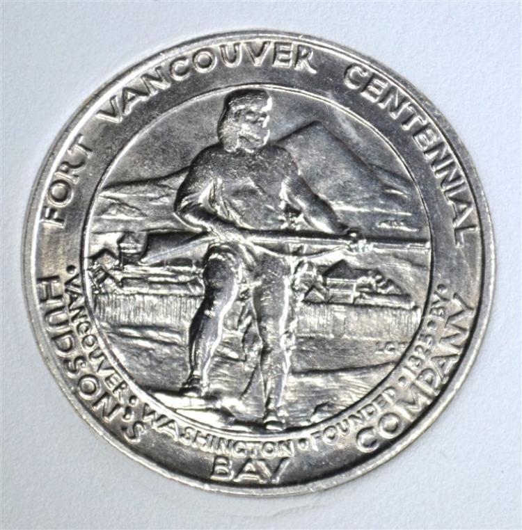 1925 Vancouver Commem Half Emgc Gem Bu