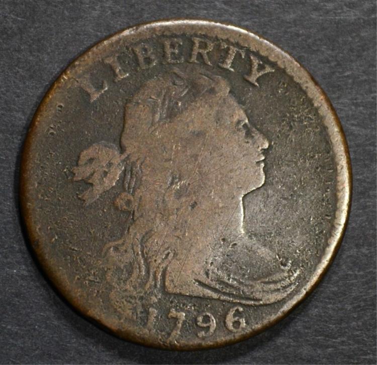 1796 LARGE CENT REV. OF 94, S-108 FINE