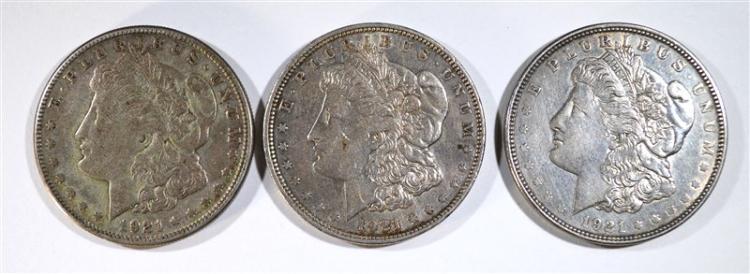 1921-P-D&S MORGAN DOLLARS CIRC
