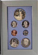 1987 U.S. PRESTIGE PROOF SET ( CONSTITUTION ) IN NICE ORIGINAL BOX WITH CERT.