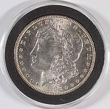 1886 MORGAN SILVER DOLLAR, MS-65 BLAST WHITE!