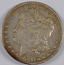 1893-S Morgan Dollar VF-35