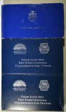 2 - 2003 FIRST FLIGHT PROOF HALF & 1986 STATUE of LIBERTY 2pc SET $1 & 50c
