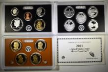 2011 U.S. SILVER PROOF SET IN ORIGINAL PACKAGING