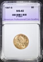 United States $5 Half Eagle Gold Coins for Sale at Online