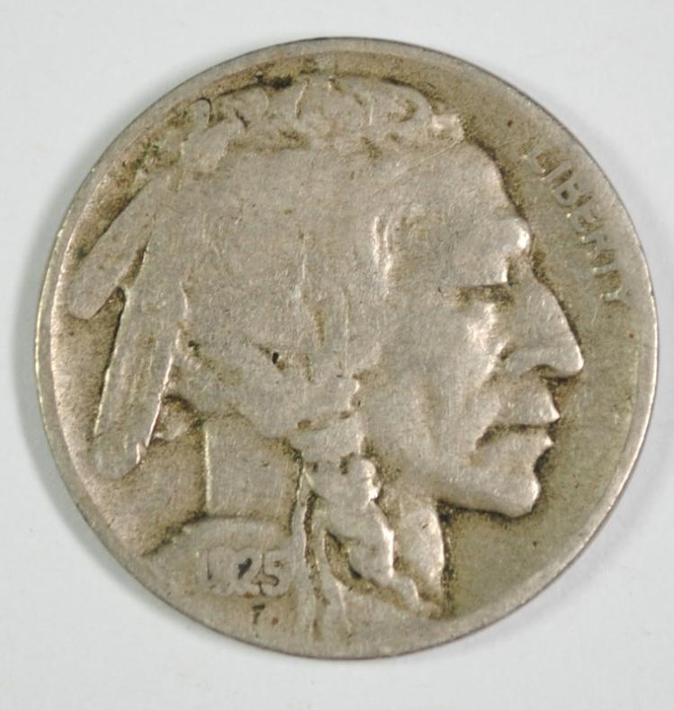 1925-D BUFFALO NICKEL VF KEY DATE