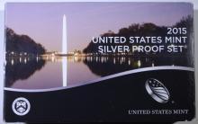 2015 U.S. SILVER PROOF SET IN ORIGINAL PACKAGING