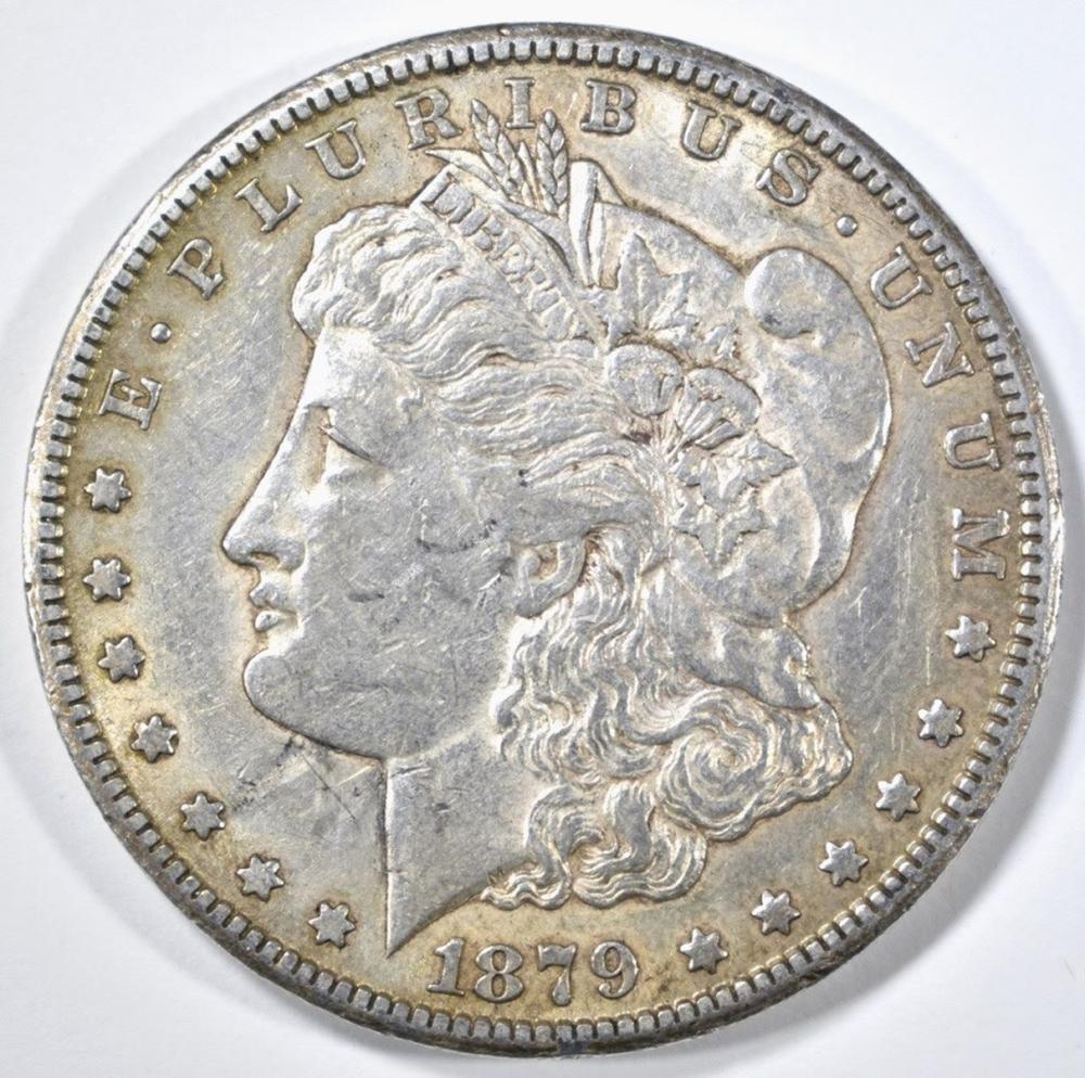 1879-CC MORGAN DOLLAR XF KEY DATE
