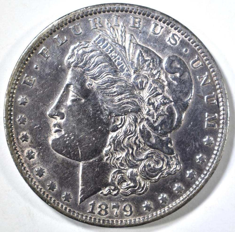 1879-O MORGAN DOLLAR CH AU