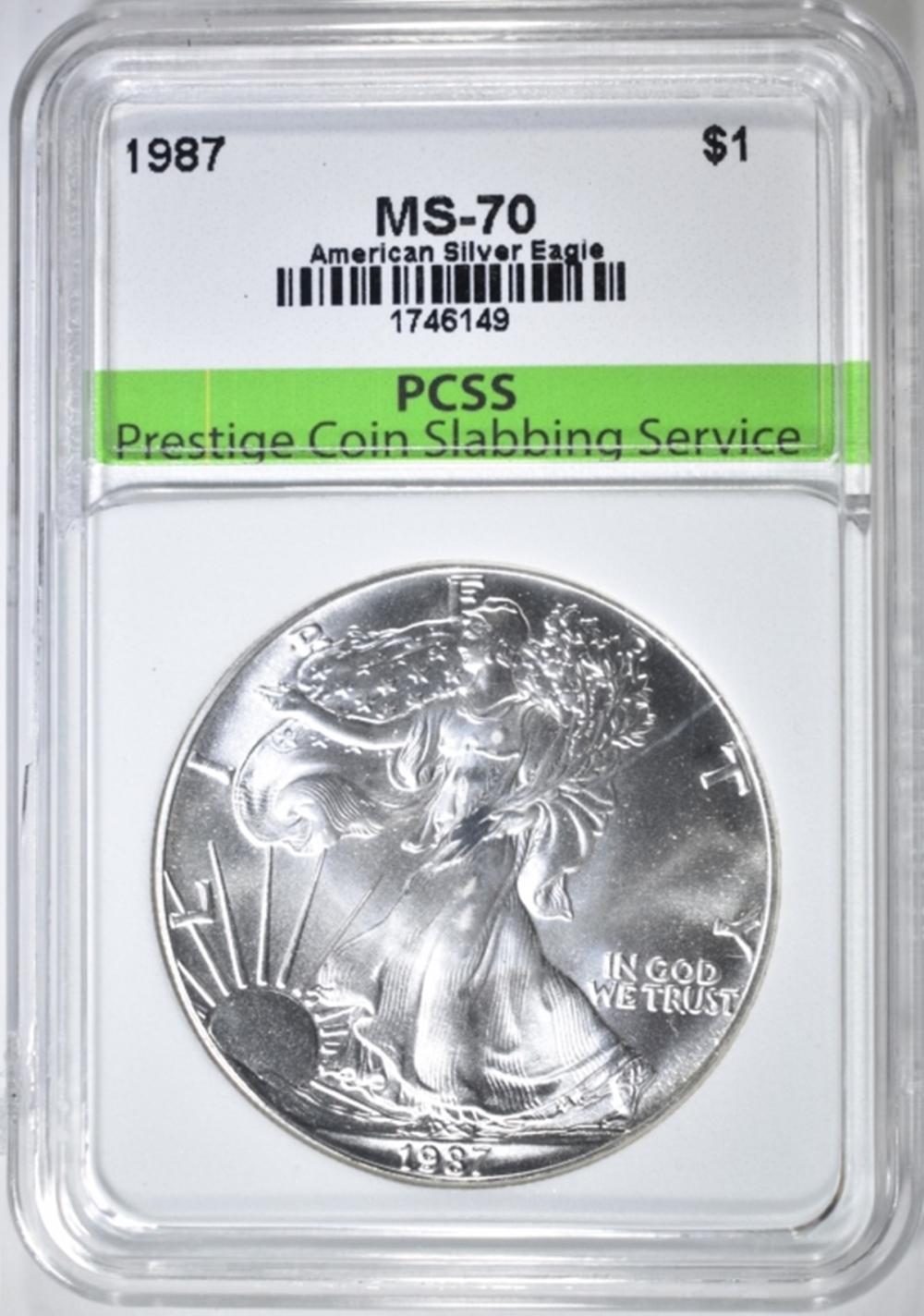 1987 ASE PCSS PERFECT GEM