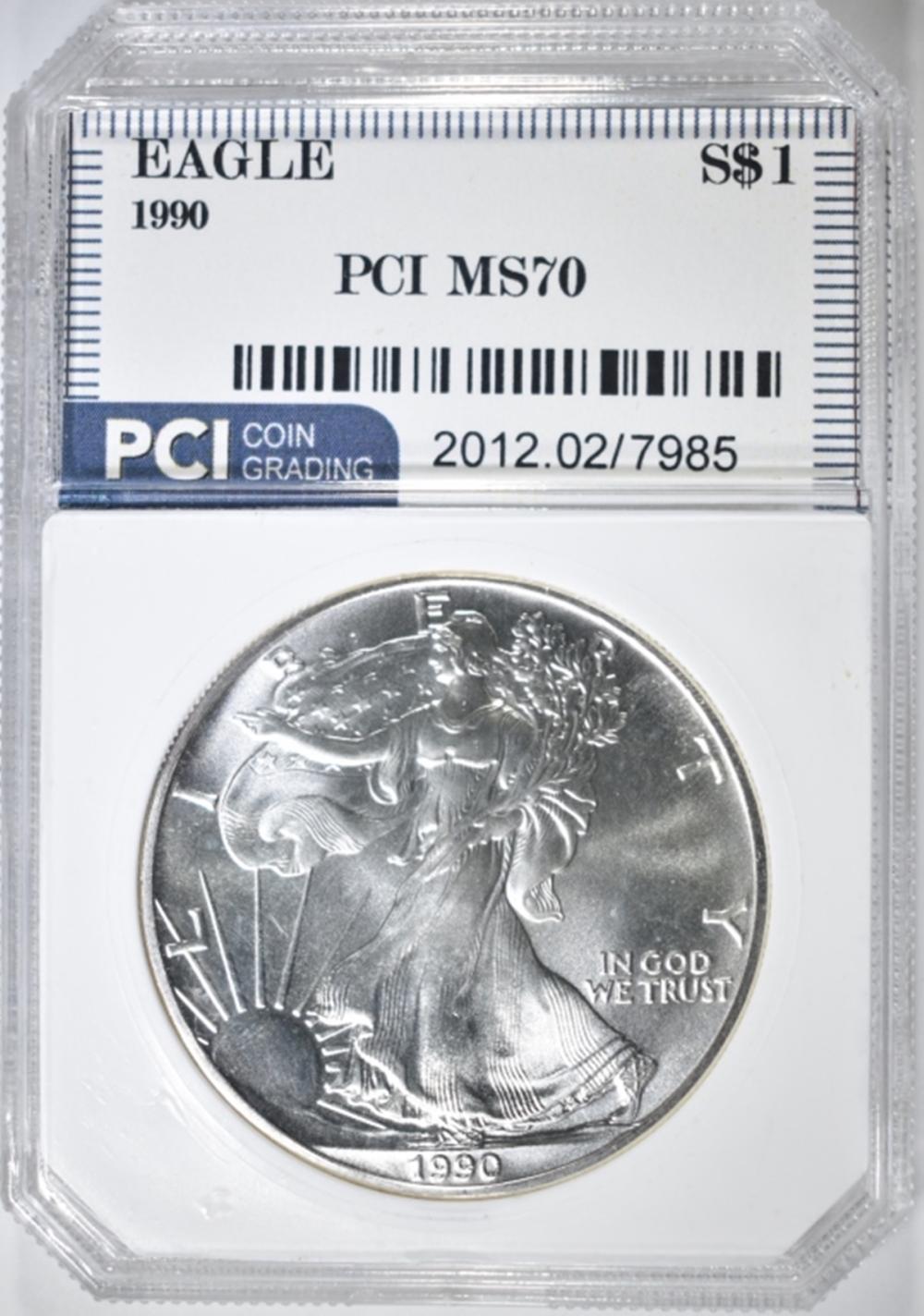 1990 ASE PCI PERFECT GEM