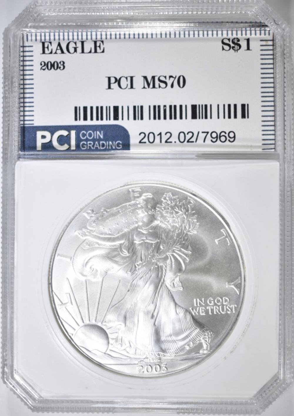 2003 ASE PCI PERFECT GEM