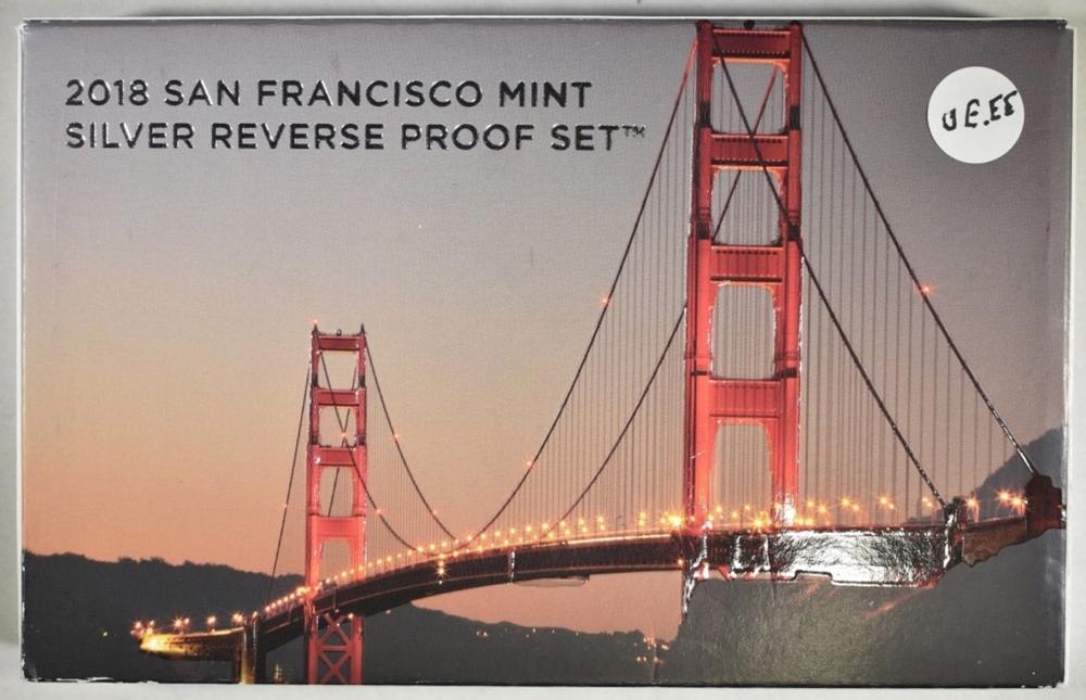 2018 SAN FRANCISCO SILVER REV PROOF SET