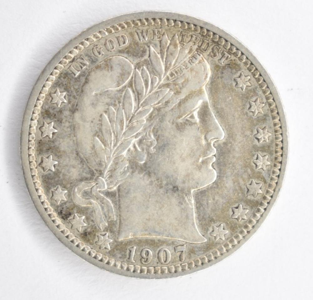 Lot 7: 1907 BARBER QUARTER, AU