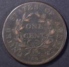 Lot 1: 1803 LARGE CENT, VF