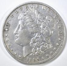 Lot 18: 1894-O MORGAN DOLLAR, XF+