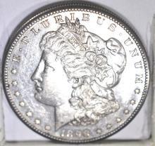 Lot 20: 1898-S MORGAN DOLLAR, CH BU PROOF-LIKE