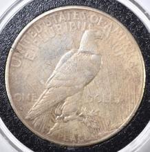 Lot 22: 1934-S PEACE DOLLAR, VF