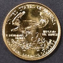 Lot 49: 1998 1/10 oz GOLD AMERICAN EAGLE