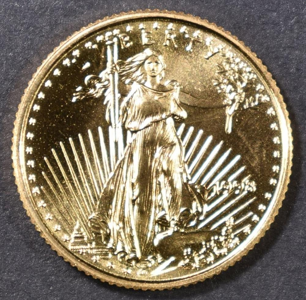 1998 1/10 oz GOLD AMERICAN EAGLE